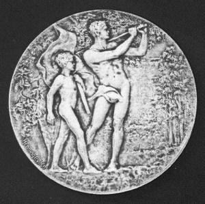 1929 PGA Diegel medal (TGH)