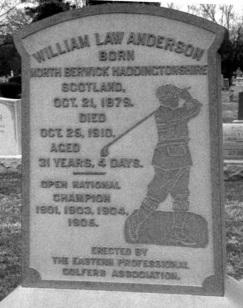 Anderson grave marker (TGH)