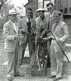1943 Steel shafts-Faz,Bickel,BudL,Jug,+