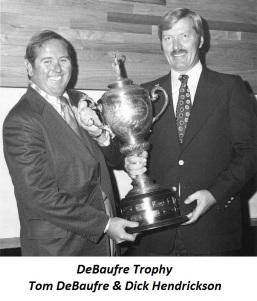 1977 DeBaufre, Tom & Trophy 2