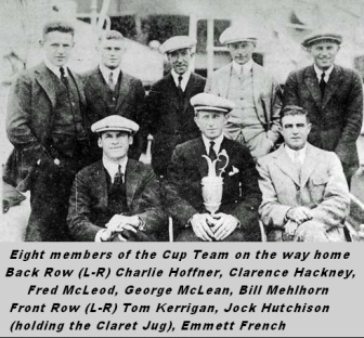 1921 Some of Pre Ryder Cup Team TTT