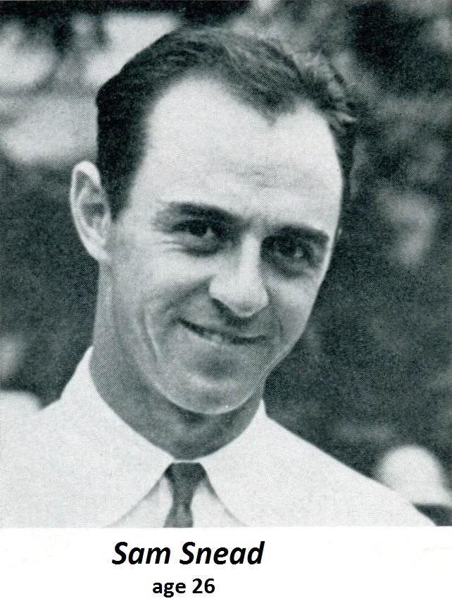 Snead-1939 Program TT