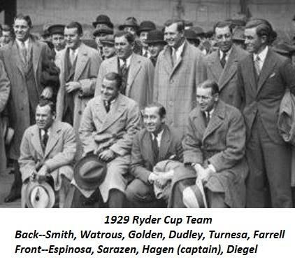 1929 Ryder Cup TTT